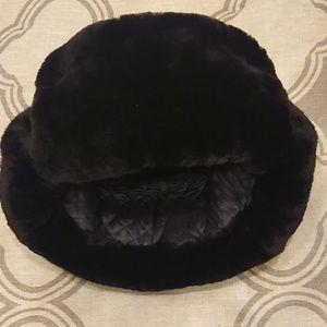 Faux fur Mouton hat